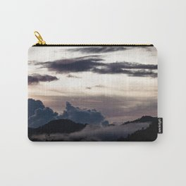 Clouds in the mountains Carry-All Pouch