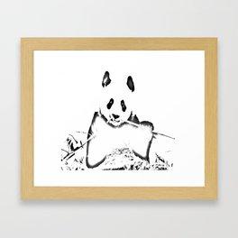 Panda bywhacky Framed Art Print