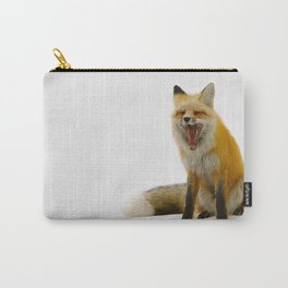Yawning Fox Carry-All Pouch