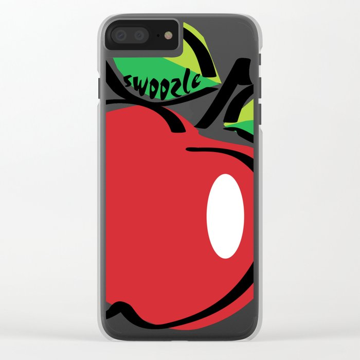 Apple Swoozle Clear iPhone Case