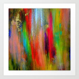 Colour Me Rainbow Art Print