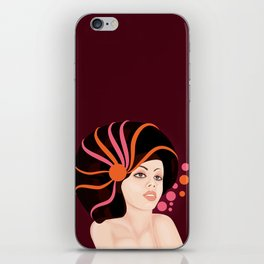 Snail Lady iPhone Skin