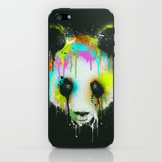 Technicolour Panda iPhone & iPod Skin