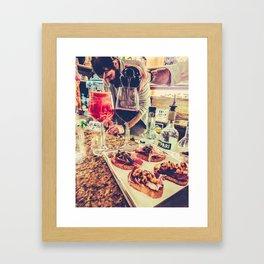 Food in Venice Fine Art Print Framed Art Print