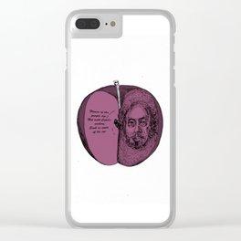 WILLSHAKESPEARE Clear iPhone Case