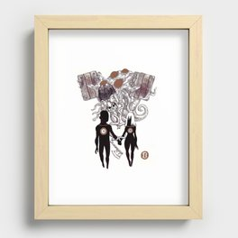 Complicated Recessed Framed Print