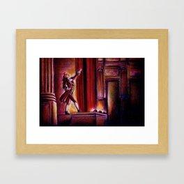 Curtain Call Framed Art Print