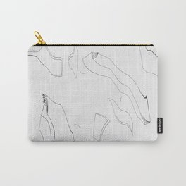 Artistic Shaped Scan Carry-All Pouch