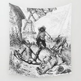Don Quixote and Sancho Panza Wall Tapestry