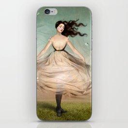 Butterfly Dress iPhone Skin