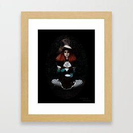 Twisted Hatter Framed Art Print