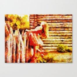O Celeiro Canvas Print