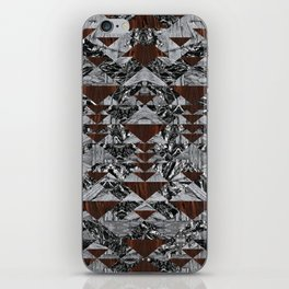 Wood Galaxy iPhone Skin