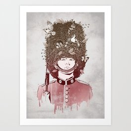 Royal Nesting Art Print