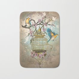 Birds were meant to fly Bath Mat