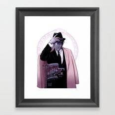 MR WORLD Framed Art Print