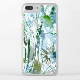 marelle: watercolor floral Clear iPhone Case