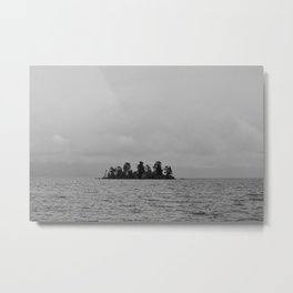 Goose Bay Island Metal Print