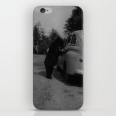 Mr. Bear goes to work iPhone & iPod Skin