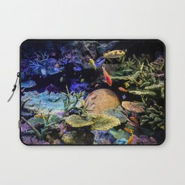 Brain Coral and Bright Colours Laptop Sleeve