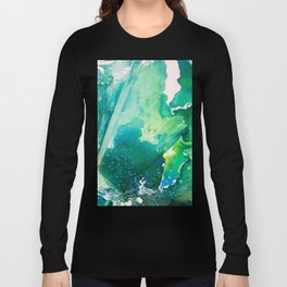 Environmental Importance, Deep Sea Water Bubbles Long Sleeve T-shirt