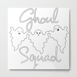 Ghoul Squad | Ghosts Metal Print
