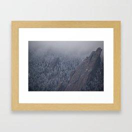 CU Flatiron Framed Art Print