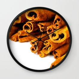 Cinnamon Stick Wall Clock