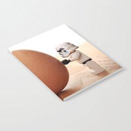Storm trooper egg Notebook