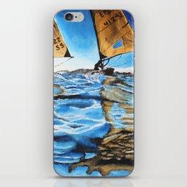 Racing Sails iPhone Skin