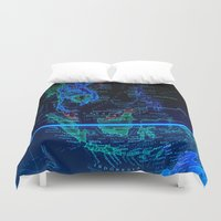 asia Duvet Covers featuring Southeast Asia by Jeffrey J. Irwin