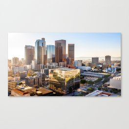 Los Angeles Skyline California United States Ultra HD Canvas Print