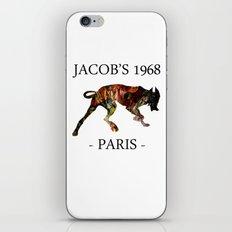 Mad Dog II Contour White Colors Jacob's 1968 urban fashion Paris iPhone & iPod Skin