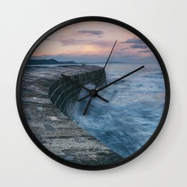 Sunset Over the Cobb II Wall Clock