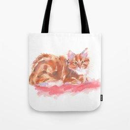 Ginger Girl Tote Bag