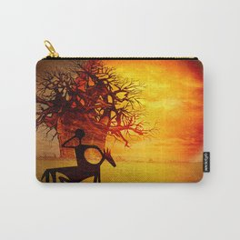 Visions of fire Carry-All Pouch