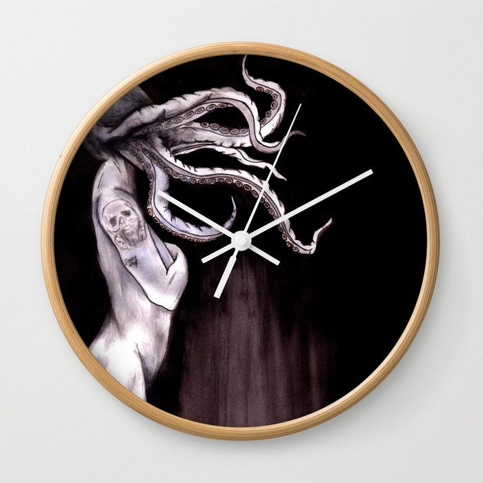 Something Touched Me and I Was Only Sleeping Wall Clock