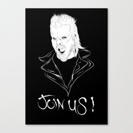 Join Us !! Canvas Print