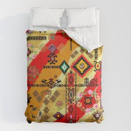 old collage Comforters