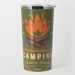 Fire - Camping Travel Mug