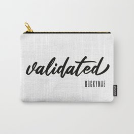 Validated Carry-All Pouch