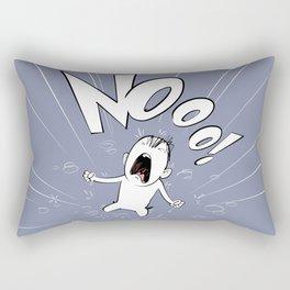Nooo! Rectangular Pillow