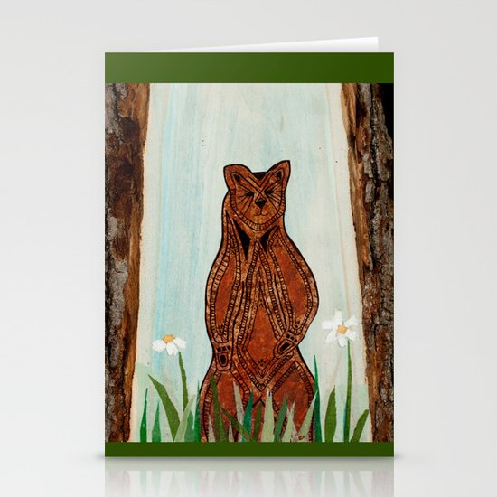 Standing Bear Stationery Cards