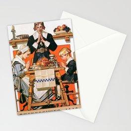 12,000pixel-500dpi - Joseph Christian Leyendecker - Thanksgiving Day 1648 - Digital Remastered Stationery Cards
