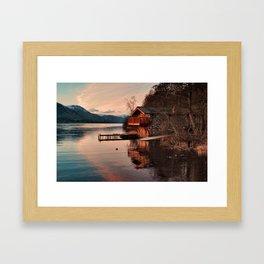 Duke Of Portland Boathouse Framed Art Print