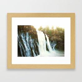 Waterfall of Dreams Framed Art Print
