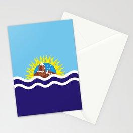 Flag of Santa Cruz Stationery Cards