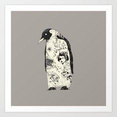 THE PENGUIN Art Print