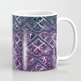 Purple Aqua MERMAID Glitter Scales Dream #1 #shiny #decor #art #society6 Coffee Mug