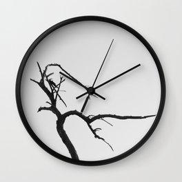 Abstract Dead Tree Wall Clock